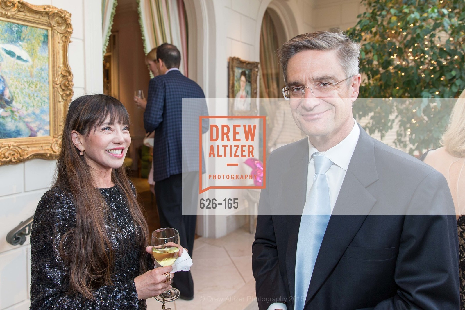 France Szeto, Daniel Girard, Opera Ball 2015 Benefactor Party Hosted By Diane Wilsey, Private residence, June 16th, 2015,Drew Altizer, Drew Altizer Photography, full-service agency, private events, San Francisco photographer, photographer california