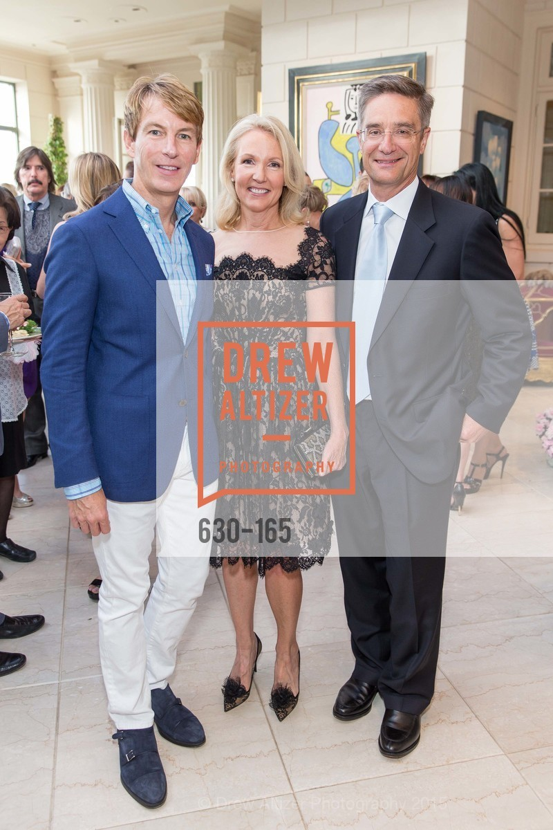 Jack Calhoun, Ann Girard, Daniel Girard, Opera Ball 2015 Benefactor Party Hosted By Diane Wilsey, Private residence, June 16th, 2015,Drew Altizer, Drew Altizer Photography, full-service agency, private events, San Francisco photographer, photographer california