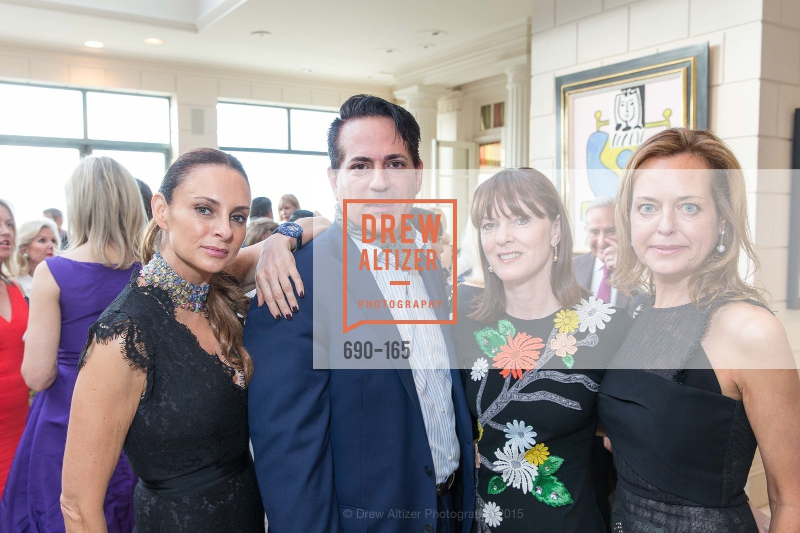Sabrina Baldieri, Giovanni Mattera, Allison Speer, Charlot Malin, Opera Ball 2015 Benefactor Party Hosted By Diane Wilsey, Private residence, June 16th, 2015,Drew Altizer, Drew Altizer Photography, full-service agency, private events, San Francisco photographer, photographer california