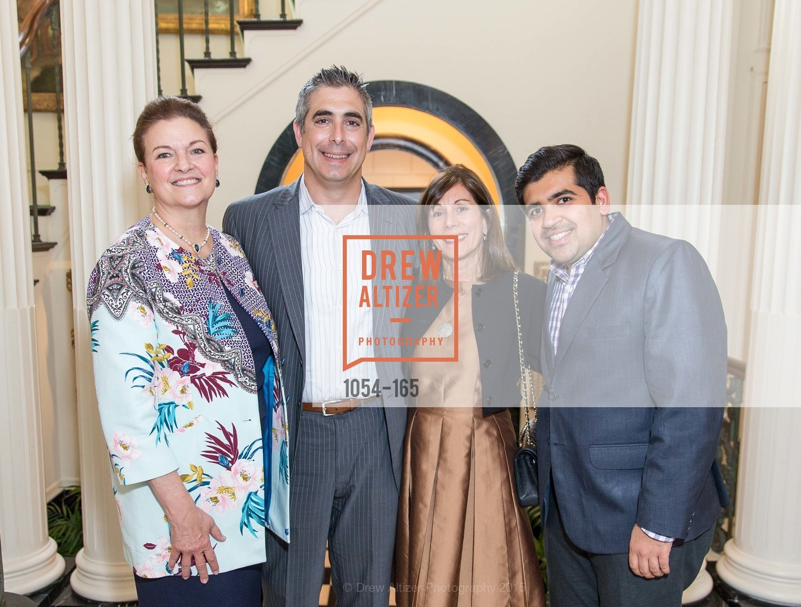 Susan Malott, Jason Schlesinger, Lisa Schatz, Sulay Ringwala, Opera Ball 2015 Benefactor Party Hosted By Diane Wilsey, Private residence, June 16th, 2015,Drew Altizer, Drew Altizer Photography, full-service event agency, private events, San Francisco photographer, photographer California