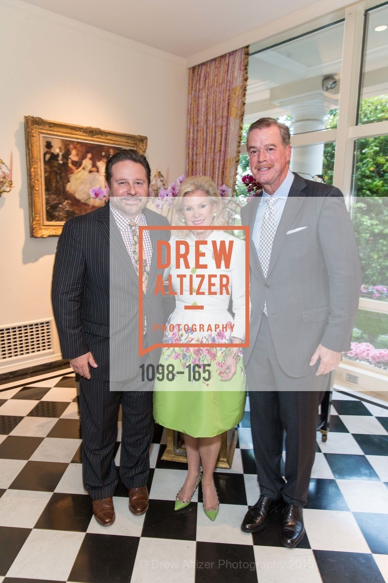 Martin Camsey, Dede Wilsey, Randy Reynoso, Opera Ball 2015 Benefactor Party Hosted By Diane Wilsey, Private residence, June 16th, 2015,Drew Altizer, Drew Altizer Photography, full-service agency, private events, San Francisco photographer, photographer california