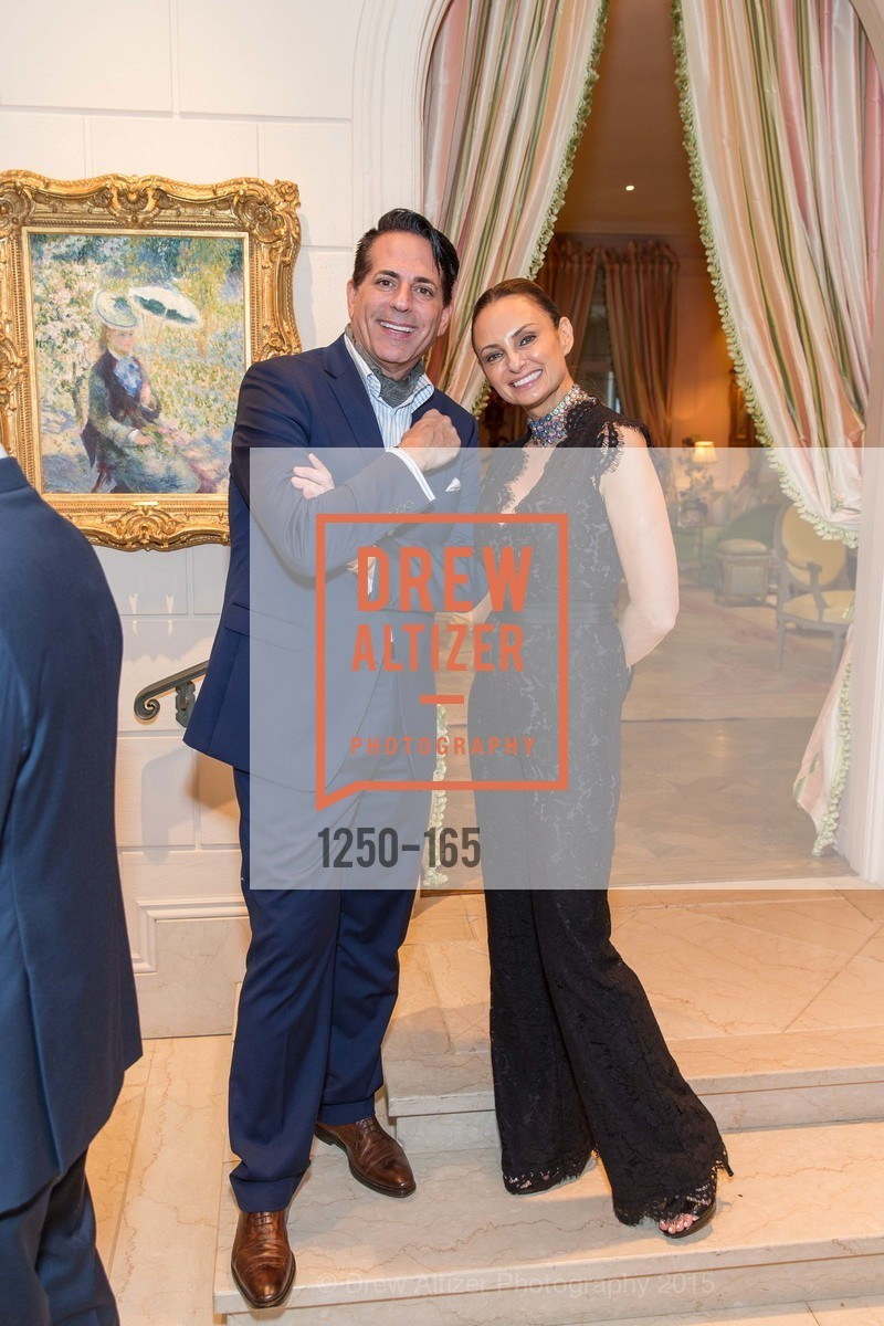 Giovanni Mattera, Sabrina Baldieri, Opera Ball 2015 Benefactor Party Hosted By Diane Wilsey, Private residence, June 16th, 2015,Drew Altizer, Drew Altizer Photography, full-service event agency, private events, San Francisco photographer, photographer California