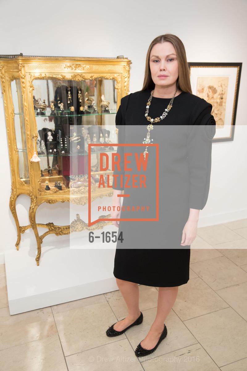 Tatiana Sorokko, Sorokko Gallery Hosts Coveted Jewels by Codognato Private Reception, Serge Sorokko Gallery. 55 Geary St., San Francisco, December 8th, 2016