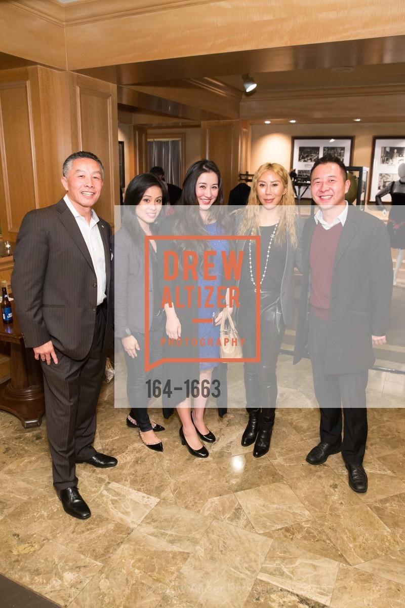 Alvin Louie, Liza Fong, Willa Quian, Rumiko McCarthy, Paul Tuan, Photo #164-1663
