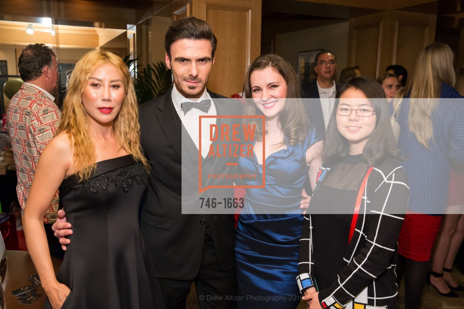 Rumiko McCarthy, David Kait, Martha Kaitidis, Mei Xi, Photo #746-1663