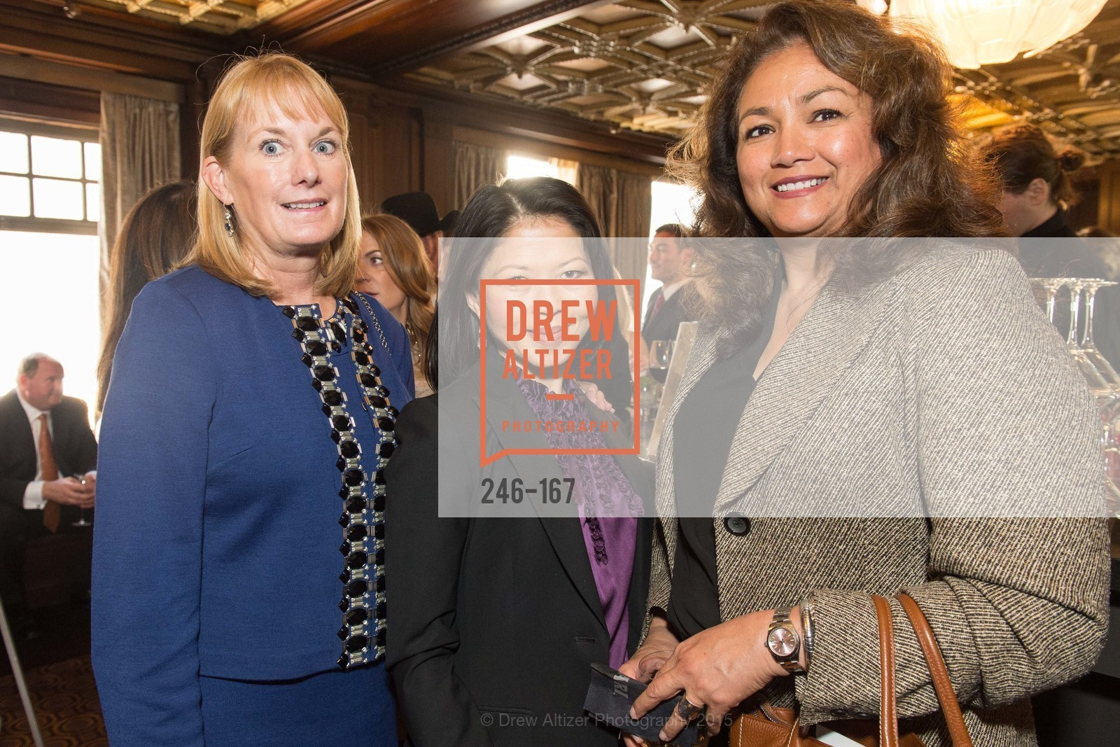 Carol Goodin, Charlene Trinh, Maria Marquez, Dress for Success San Francisco Hosts the 10th Annual