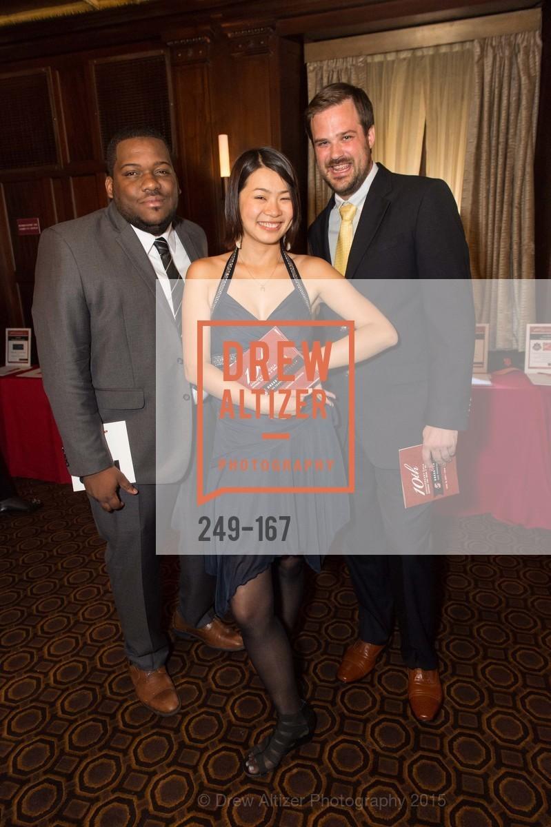 Akeel Bernard, Emma Li, Pat Christensen, Dress for Success San Francisco Hosts the 10th Annual