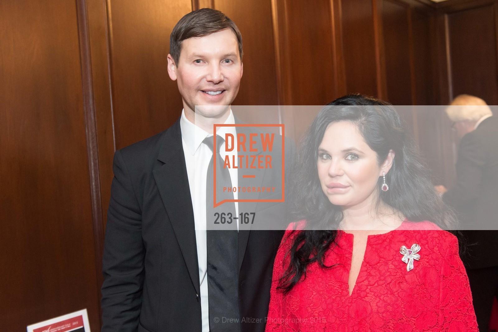 Ivan Bekichev, Rada Katz, Dress for Success San Francisco Hosts the 10th Annual