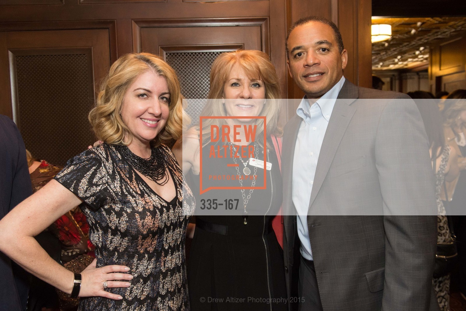 Gia Colosi, Deborah Harrison, Steve Robinson, Dress for Success San Francisco Hosts the 10th Annual