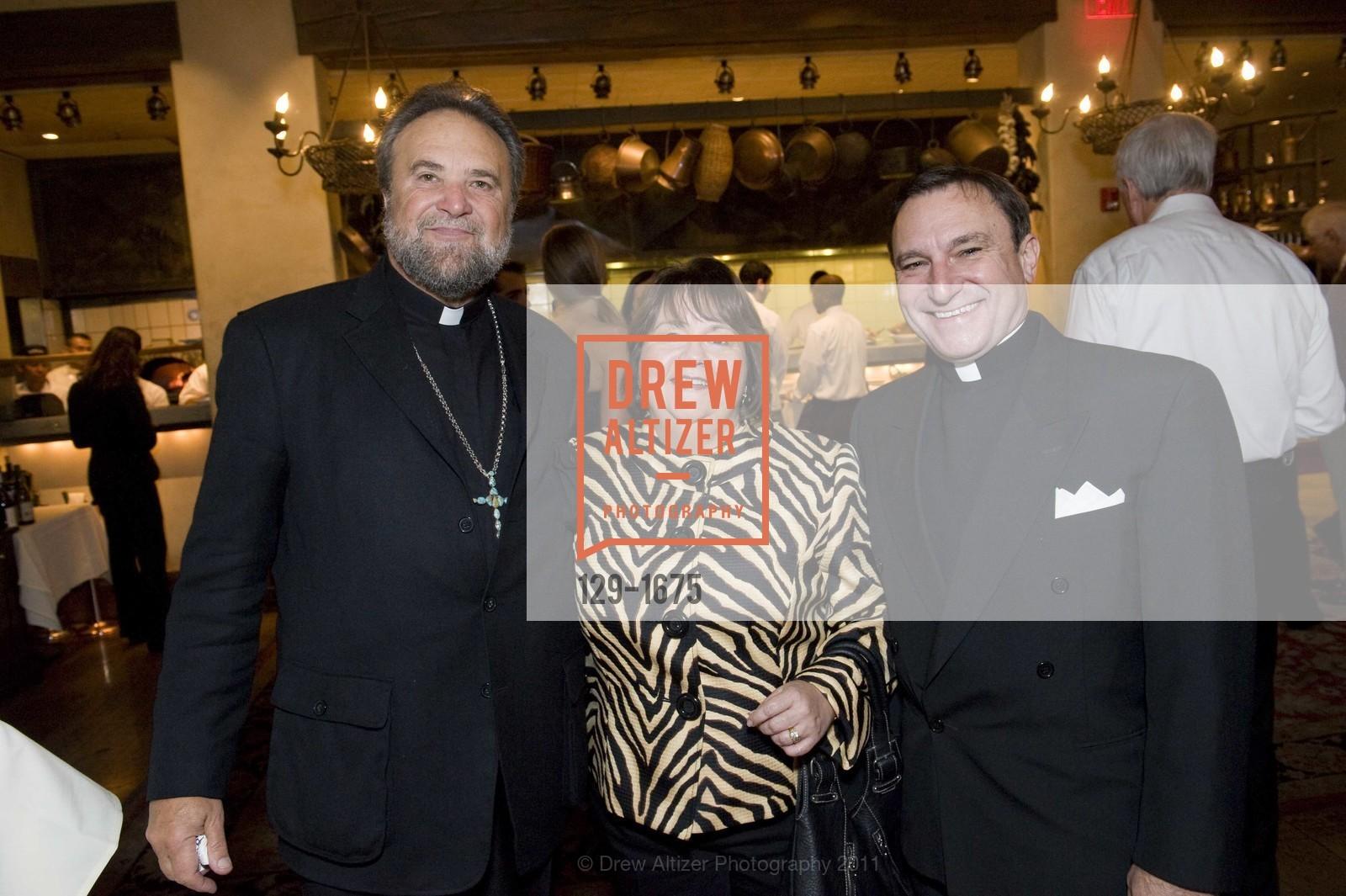 Father John Bakas, Valerie Metrakos, Father Aris Metrakos, Photo #129-1675