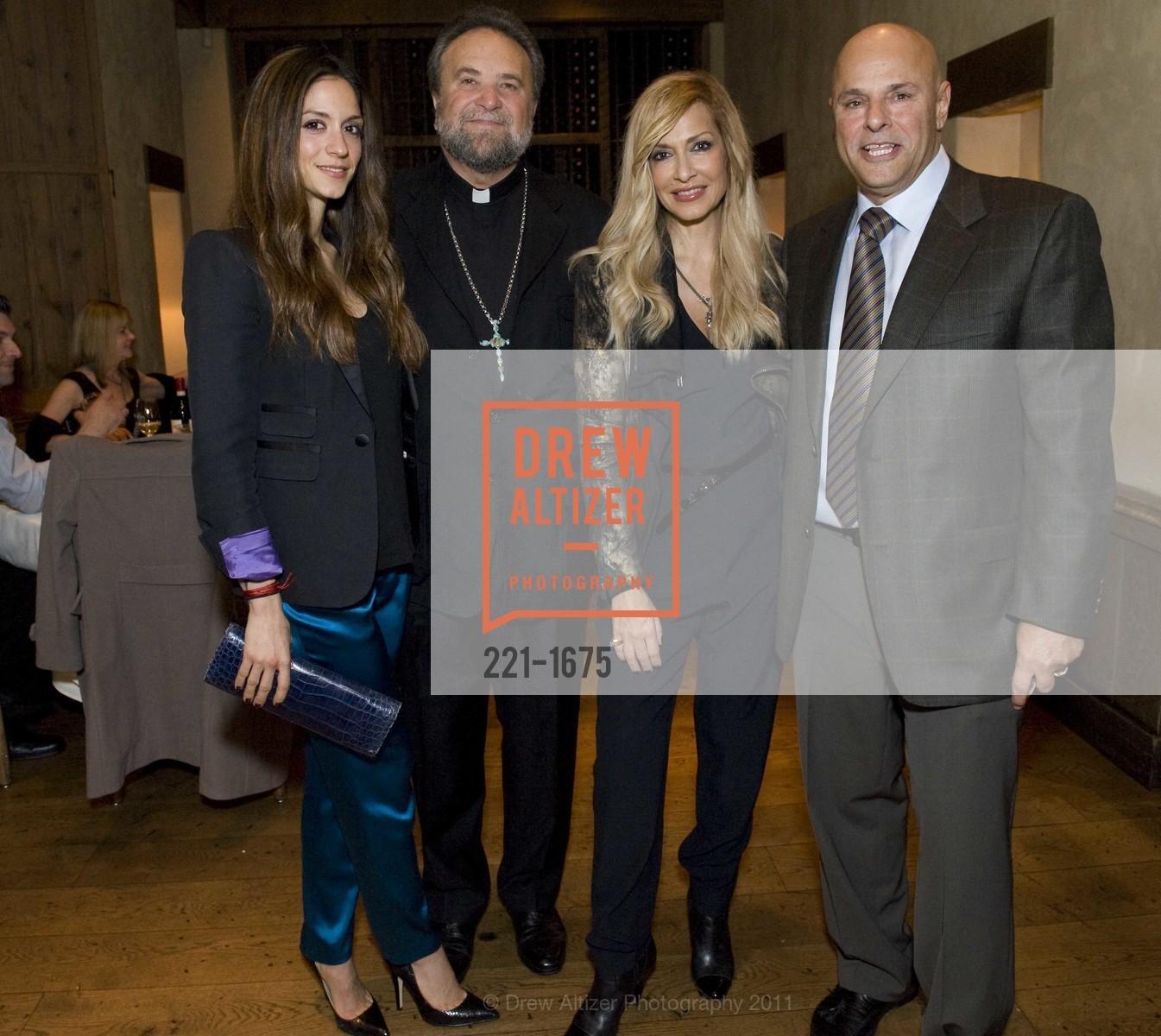 Sofia Karvela, Father John Bakas, Anna Vissi, Tony Saris, Photo #221-1675