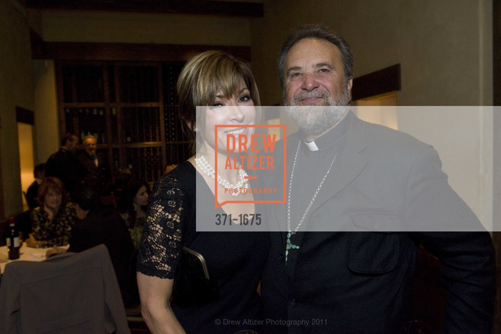 Vicki Liviakis, Father John Bakas, Photo #371-1675