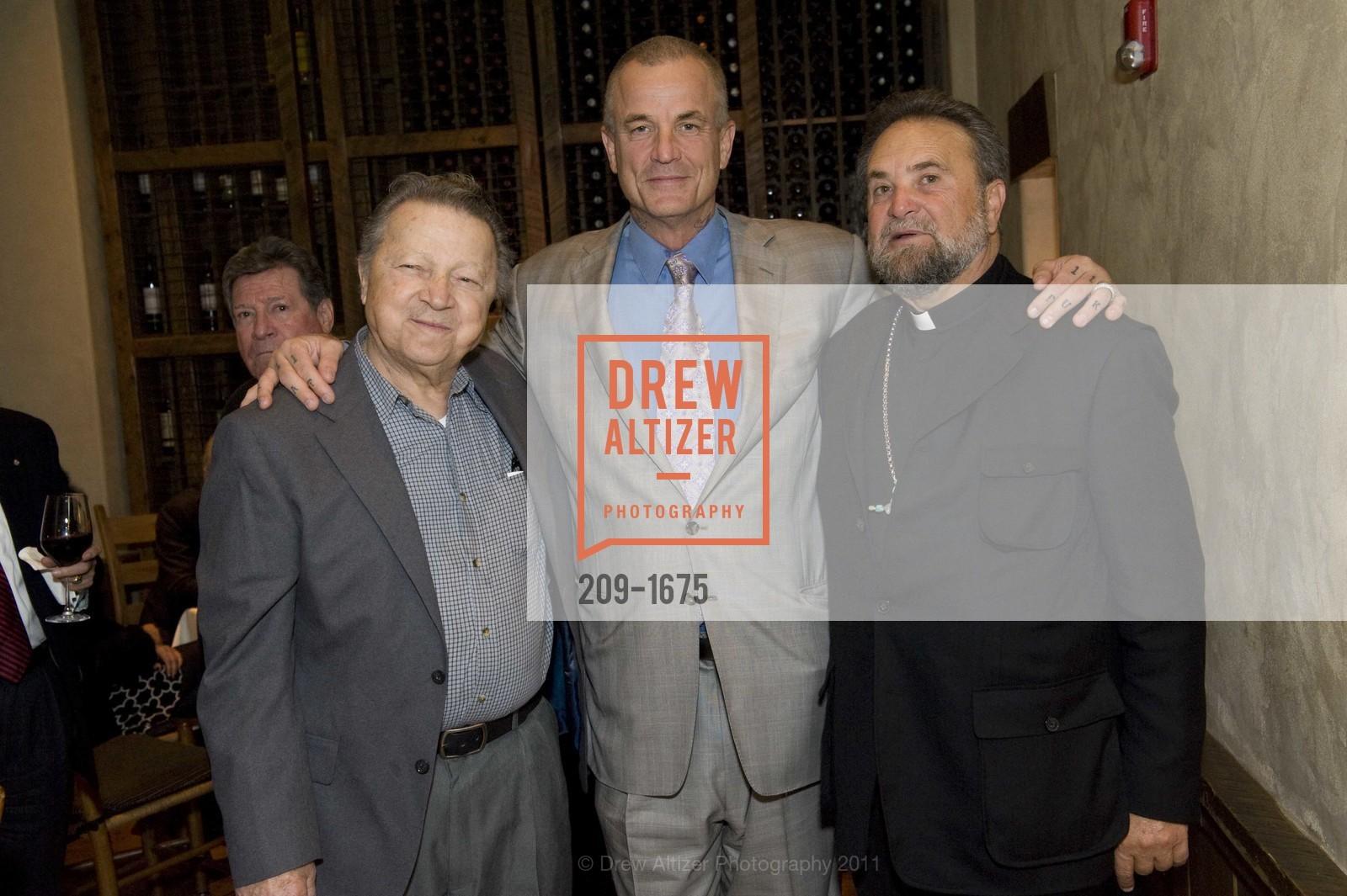 Louie Gundunas, Nick Cassavetes, Father John Bakas, Photo #209-1675