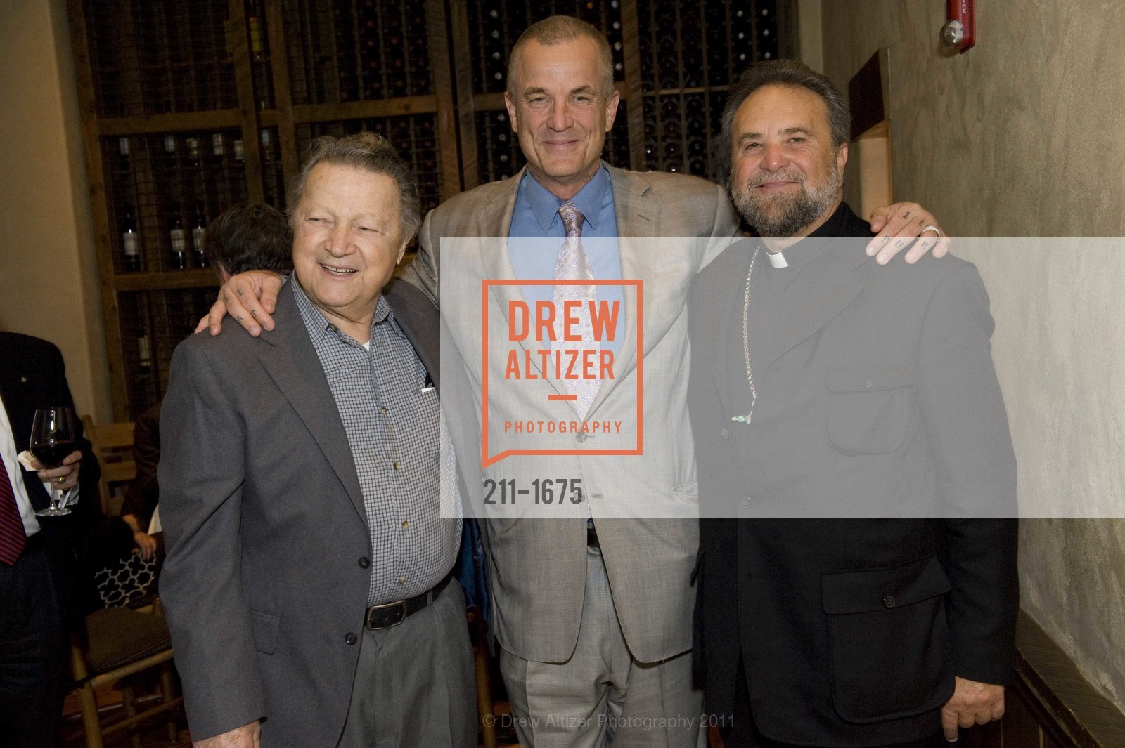 Louie Gundunas, Nick Cassavetes, Father John Bakas, Photo #211-1675