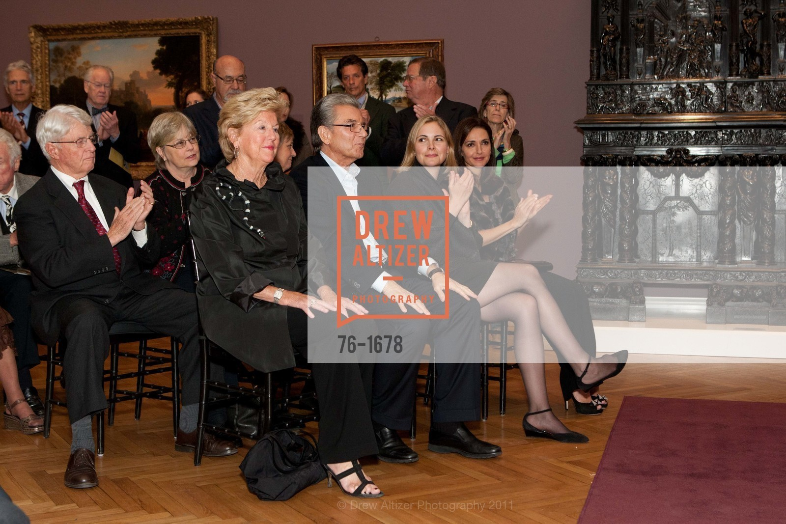 Judy Marcus, George Marcus, Max Boyer Glynn, Carol Marcelli, Photo #76-1678