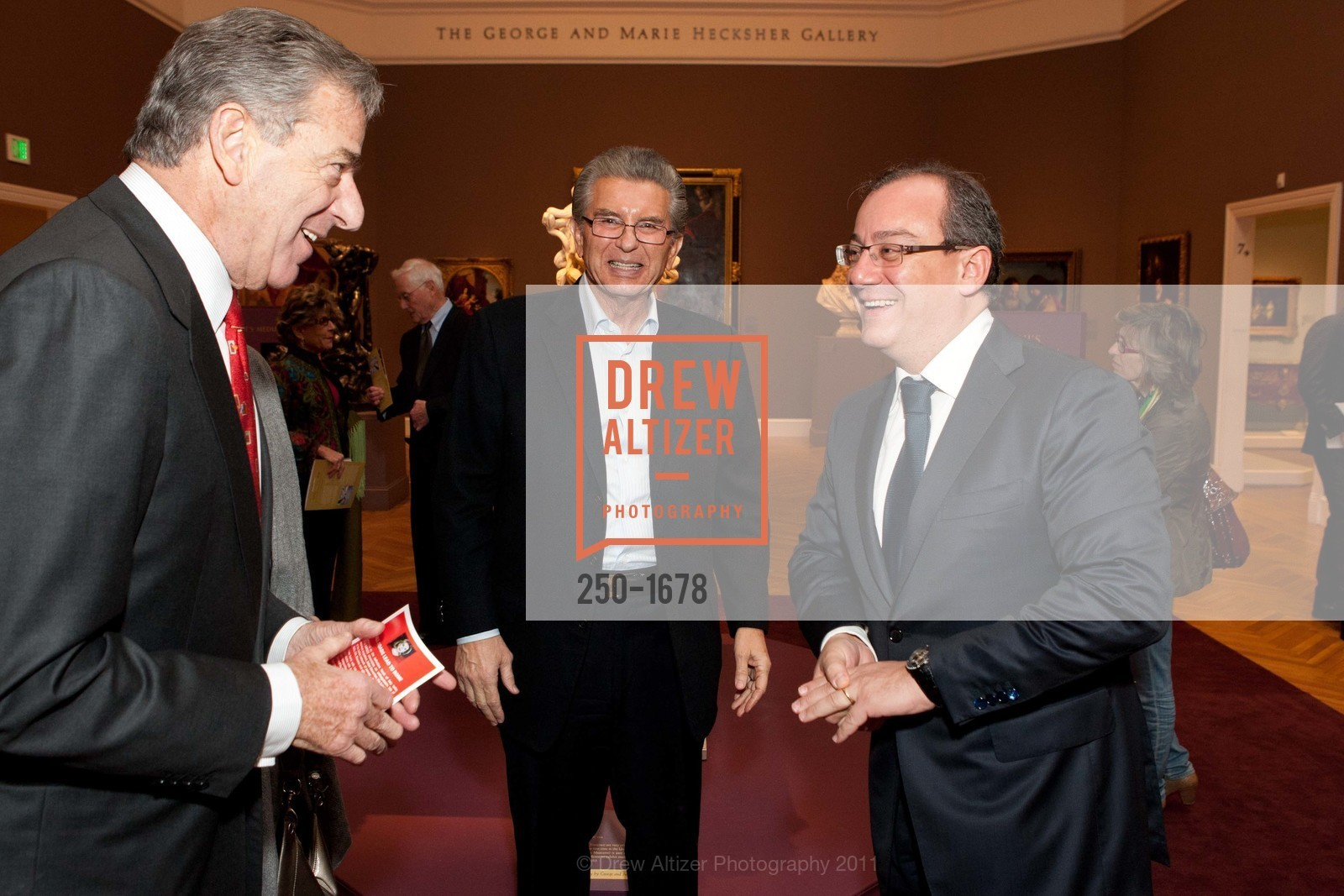 Paul Pelosi, George Marcus, Filippo La Rosa, Photo #250-1678