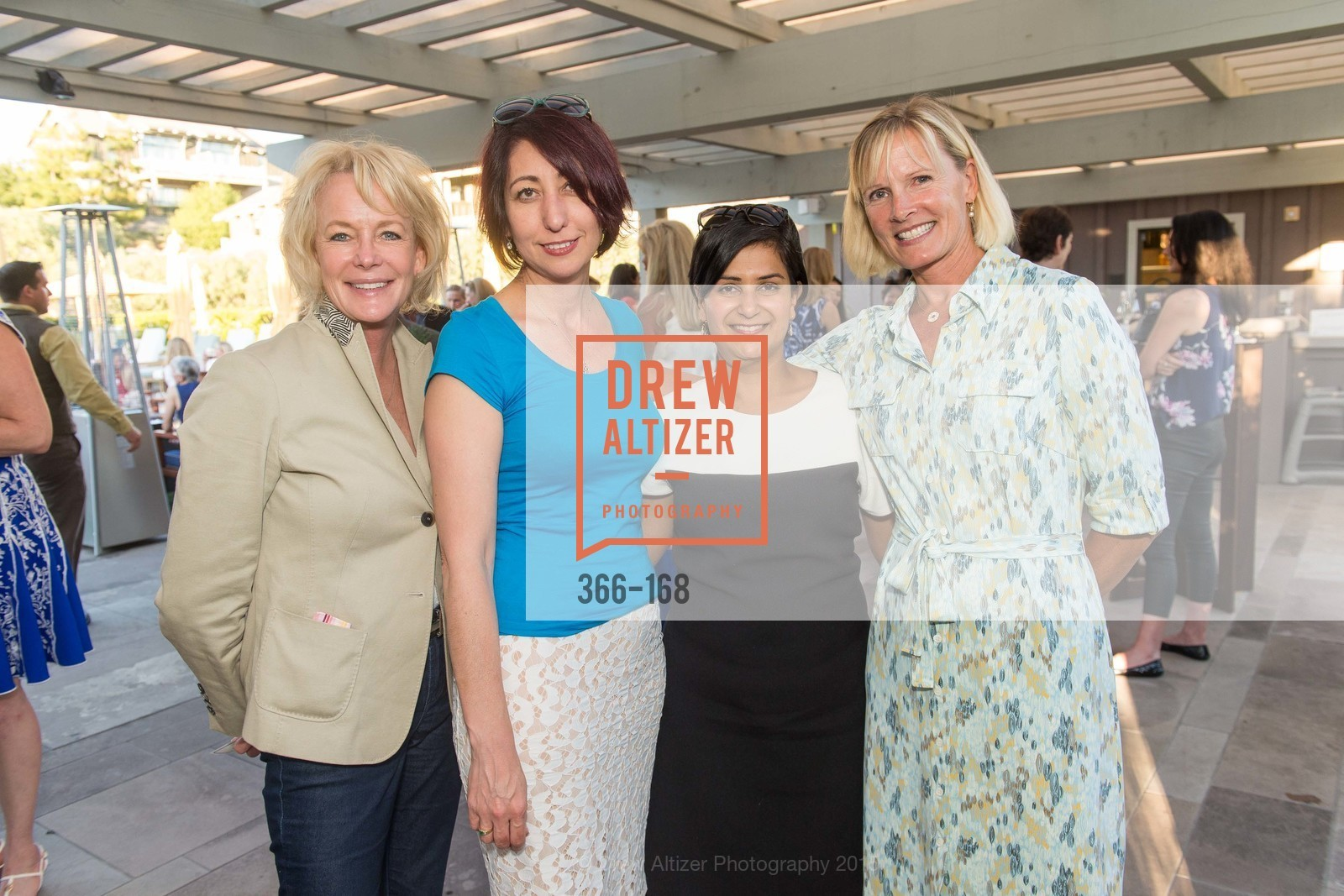 Susan Graf, Jovita Hono, Sheetal Bagde, Claudia Knight, Menlo Charity Horse Show Sponsor Party , Rosewood Resort and Spa. 190 Park Lane, June 15th, 2015,Drew Altizer, Drew Altizer Photography, full-service agency, private events, San Francisco photographer, photographer california