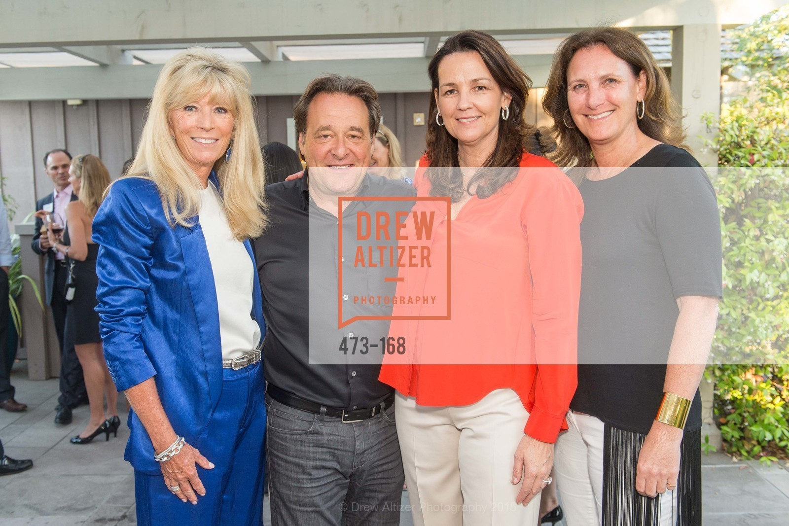 Susan Martin, Stephen Silver, Connie Norlander, Suzanne Rischman, Menlo Charity Horse Show Sponsor Party , Rosewood Resort and Spa. 190 Park Lane, June 15th, 2015