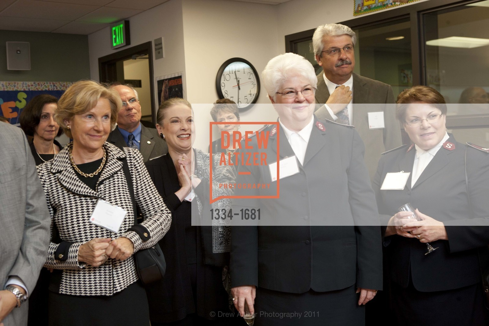 Kristin Hueter, Terry Lowry, Lt. Col Judy Smith, Marcia Smith, Photo #1334-1681