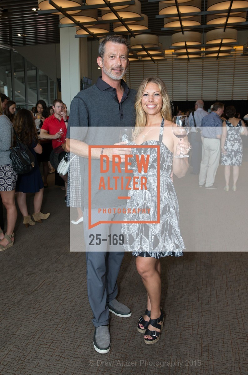 Sal Mehmedic, Jenny Mehmidic, Silicon Valley Wine Auction Benefiting Silicon Valley Education Foundation, Levi's Stadium. 4900 Marie P. DeBartolo Way, June 19th, 2015,Drew Altizer, Drew Altizer Photography, full-service agency, private events, San Francisco photographer, photographer california