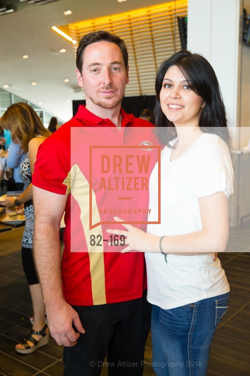 Nick Cancilla, Dulce Guerra, Silicon Valley Wine Auction Benefiting Silicon Valley Education Foundation, Levi's Stadium. 4900 Marie P. DeBartolo Way, June 19th, 2015,Drew Altizer, Drew Altizer Photography, full-service agency, private events, San Francisco photographer, photographer california
