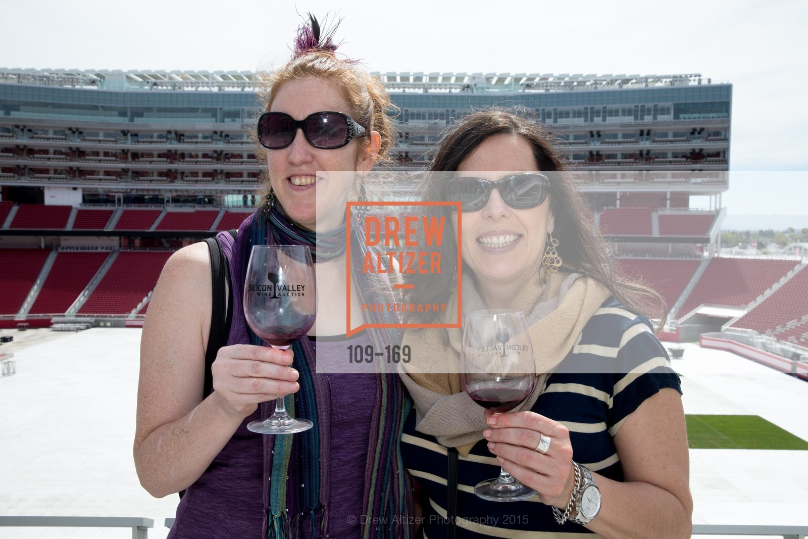 Susanna Greenwood, Patricia Smith, Silicon Valley Wine Auction Benefiting Silicon Valley Education Foundation, Levi's Stadium. 4900 Marie P. DeBartolo Way, June 19th, 2015,Drew Altizer, Drew Altizer Photography, full-service agency, private events, San Francisco photographer, photographer california