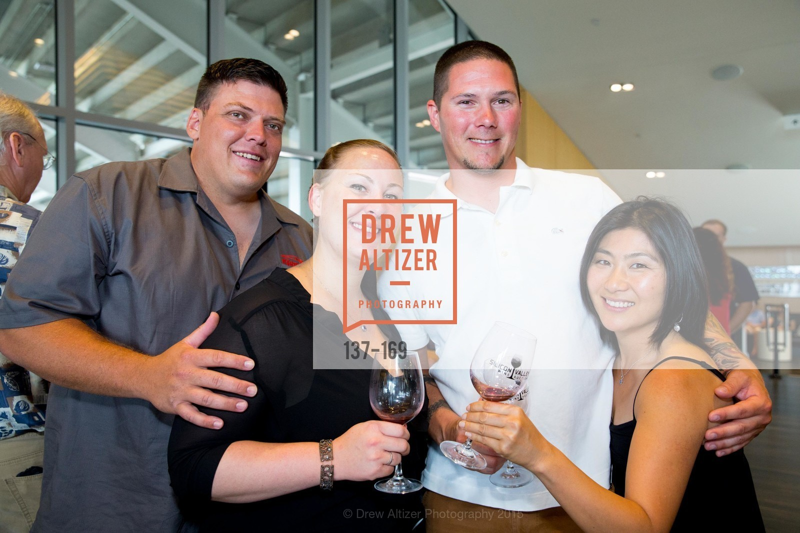 Keith Mitchell, Kelly Mitchell, Jason Moore, Eriko Yamato, Silicon Valley Wine Auction Benefiting Silicon Valley Education Foundation, Levi's Stadium. 4900 Marie P. DeBartolo Way, June 19th, 2015,Drew Altizer, Drew Altizer Photography, full-service agency, private events, San Francisco photographer, photographer california