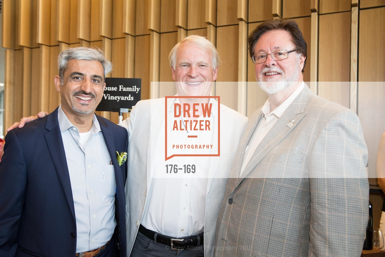 Muhammed Chaudhry, Dave House, John York, Silicon Valley Wine Auction Benefiting Silicon Valley Education Foundation, Levi's Stadium. 4900 Marie P. DeBartolo Way, June 19th, 2015,Drew Altizer, Drew Altizer Photography, full-service agency, private events, San Francisco photographer, photographer california