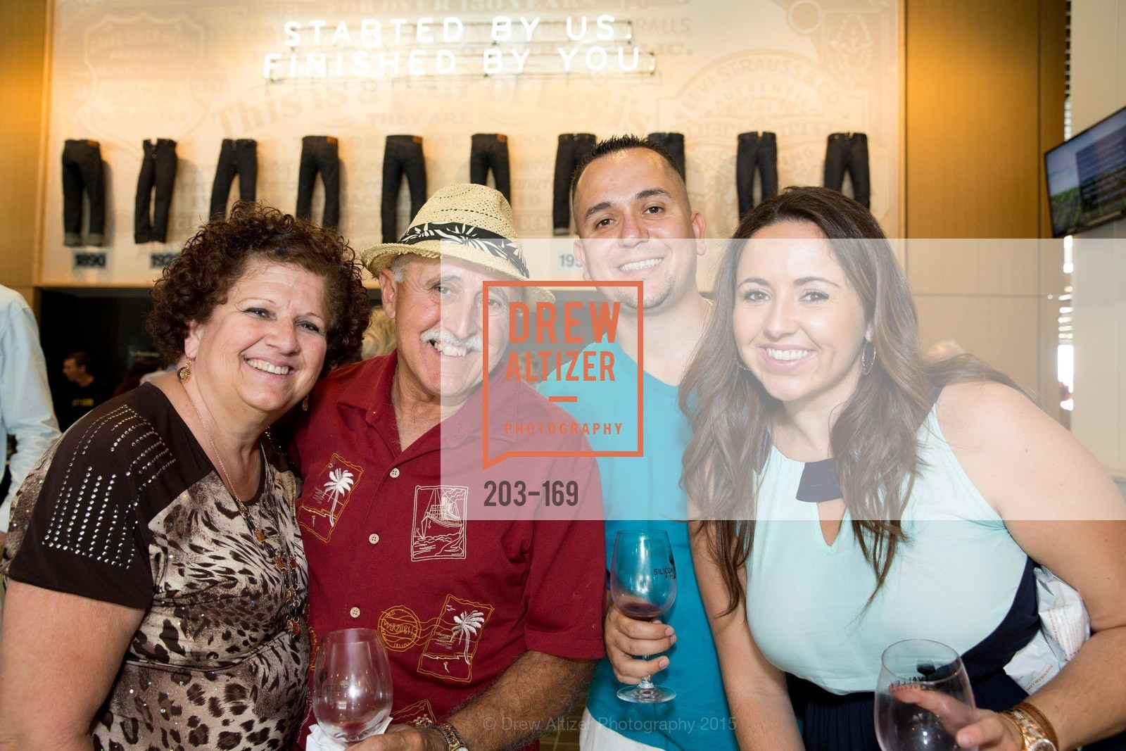 Christine Pires, Manuel Pires, Danny Dinis, Veronica Pires, Silicon Valley Wine Auction Benefiting Silicon Valley Education Foundation, Levi's Stadium. 4900 Marie P. DeBartolo Way, June 19th, 2015,Drew Altizer, Drew Altizer Photography, full-service agency, private events, San Francisco photographer, photographer california