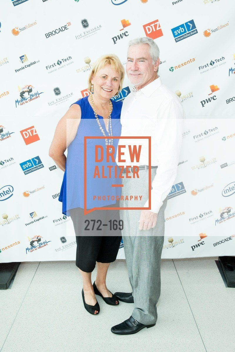 Carol Bartz, Bill Marr, Silicon Valley Wine Auction Benefiting Silicon Valley Education Foundation, Levi's Stadium. 4900 Marie P. DeBartolo Way, June 19th, 2015,Drew Altizer, Drew Altizer Photography, full-service agency, private events, San Francisco photographer, photographer california
