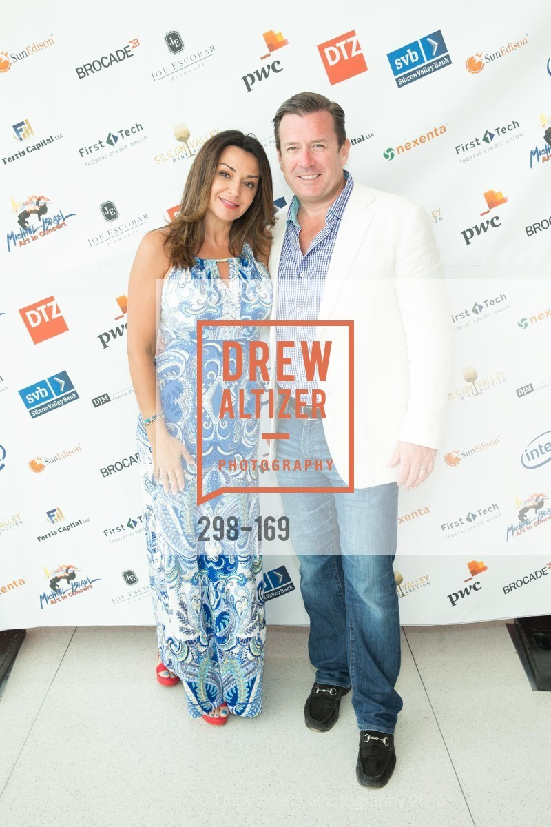 Ana Ferris, David Ferris, Silicon Valley Wine Auction Benefiting Silicon Valley Education Foundation, Levi's Stadium. 4900 Marie P. DeBartolo Way, June 19th, 2015,Drew Altizer, Drew Altizer Photography, full-service agency, private events, San Francisco photographer, photographer california