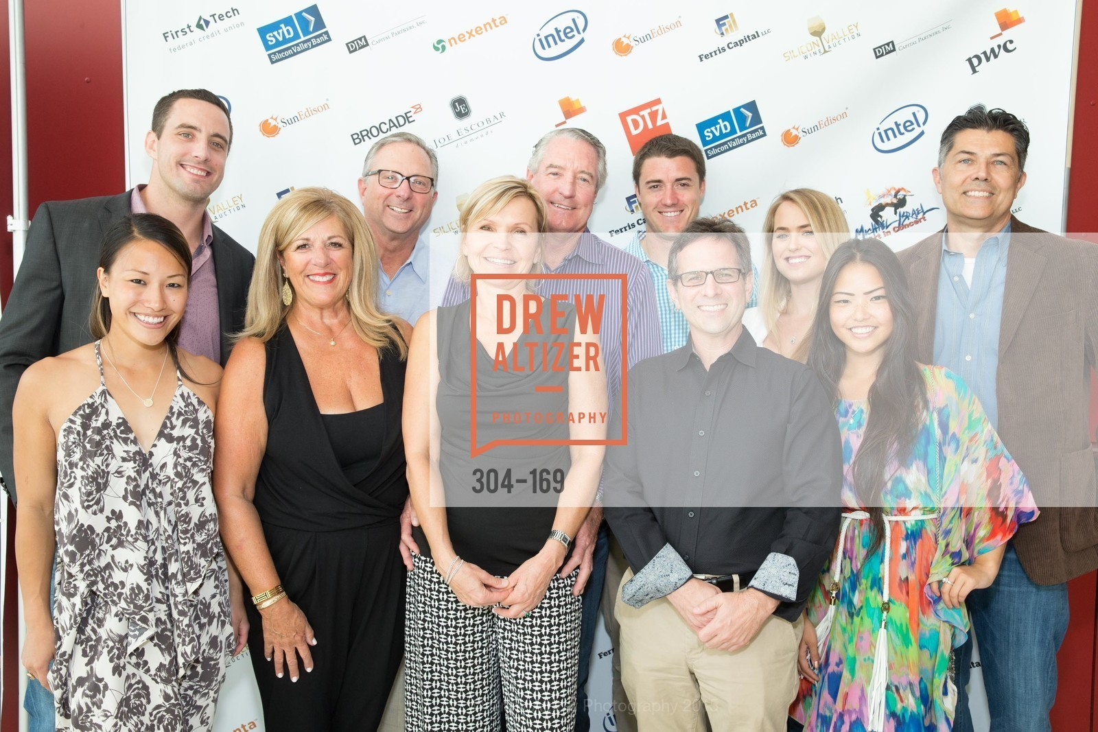 Jamie Yoo, Melinda Parkinson, Mark Parkinson, Liba Janicek, John Miller, Brad Lehman, Maura Cyrus, Marysol Yoo, Dennis Jackson, Silicon Valley Wine Auction Benefiting Silicon Valley Education Foundation, Levi's Stadium. 4900 Marie P. DeBartolo Way, June 19th, 2015,Drew Altizer, Drew Altizer Photography, full-service agency, private events, San Francisco photographer, photographer california