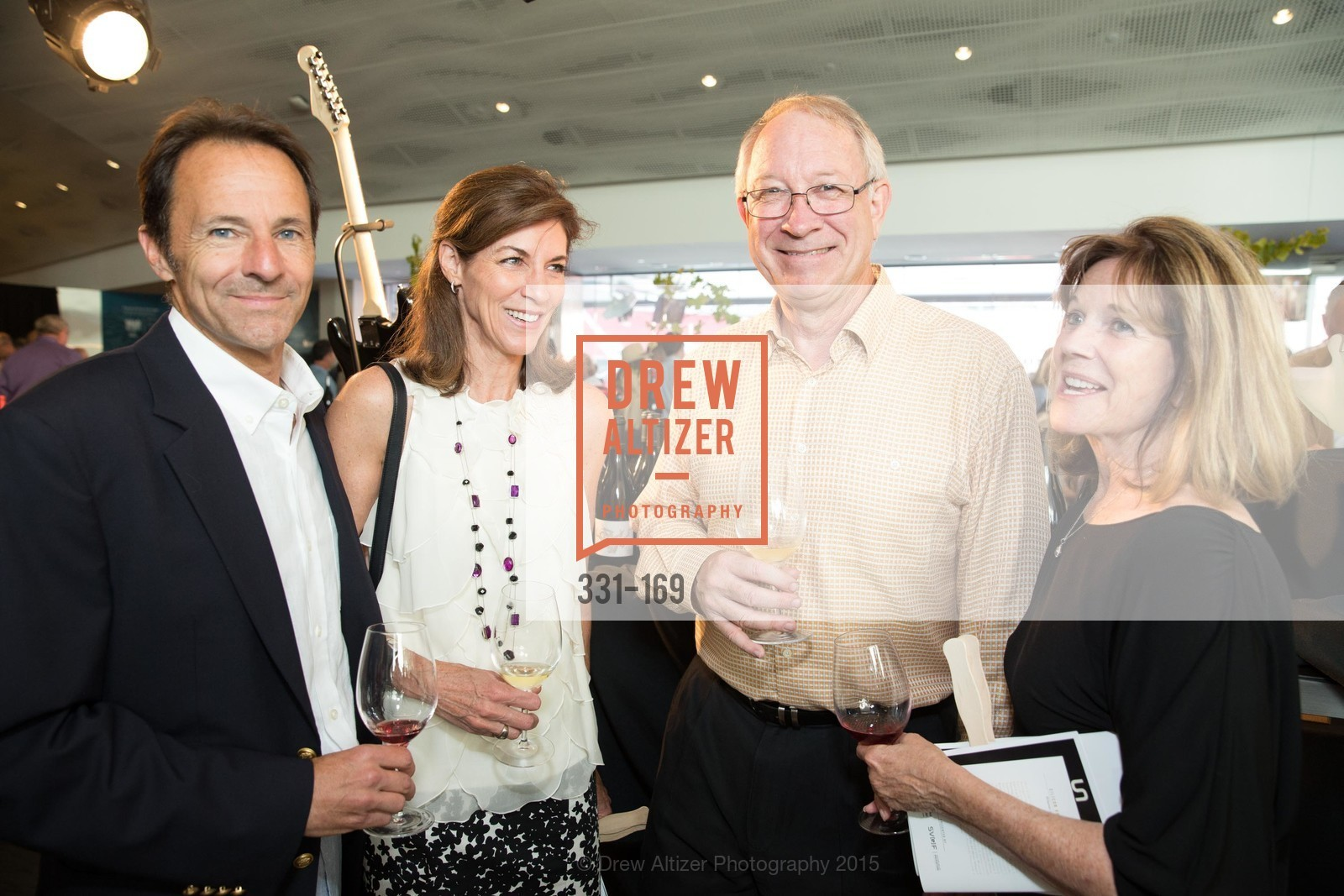 Tim Bussey, Patty Hanford, Jeff Black, Cathy Black, Silicon Valley Wine Auction Benefiting Silicon Valley Education Foundation, Levi's Stadium. 4900 Marie P. DeBartolo Way, June 19th, 2015,Drew Altizer, Drew Altizer Photography, full-service agency, private events, San Francisco photographer, photographer california