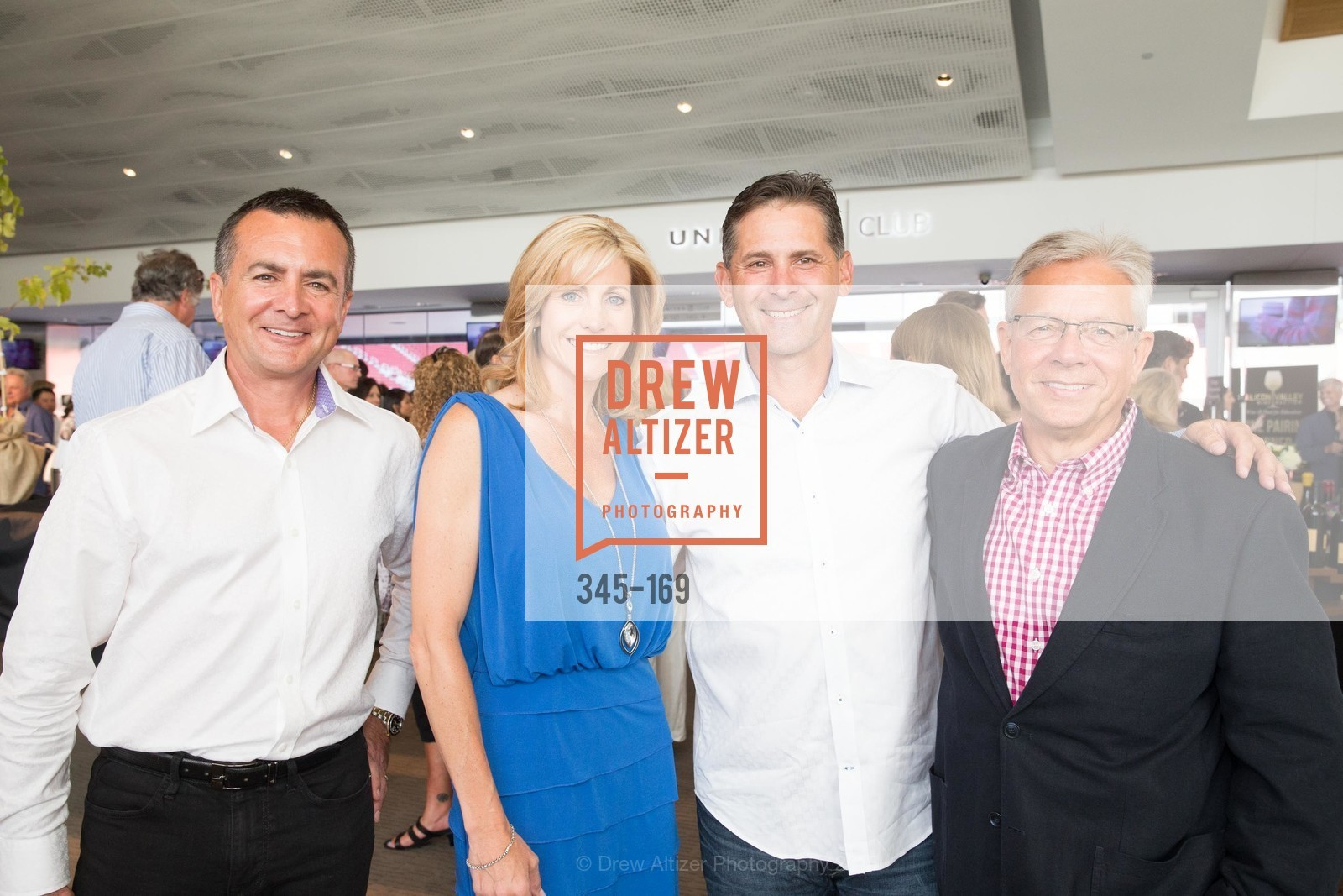 Jim Trah, Ellie Britt, Doug Britt, Paul Humphries, Silicon Valley Wine Auction Benefiting Silicon Valley Education Foundation, Levi's Stadium. 4900 Marie P. DeBartolo Way, June 19th, 2015,Drew Altizer, Drew Altizer Photography, full-service agency, private events, San Francisco photographer, photographer california
