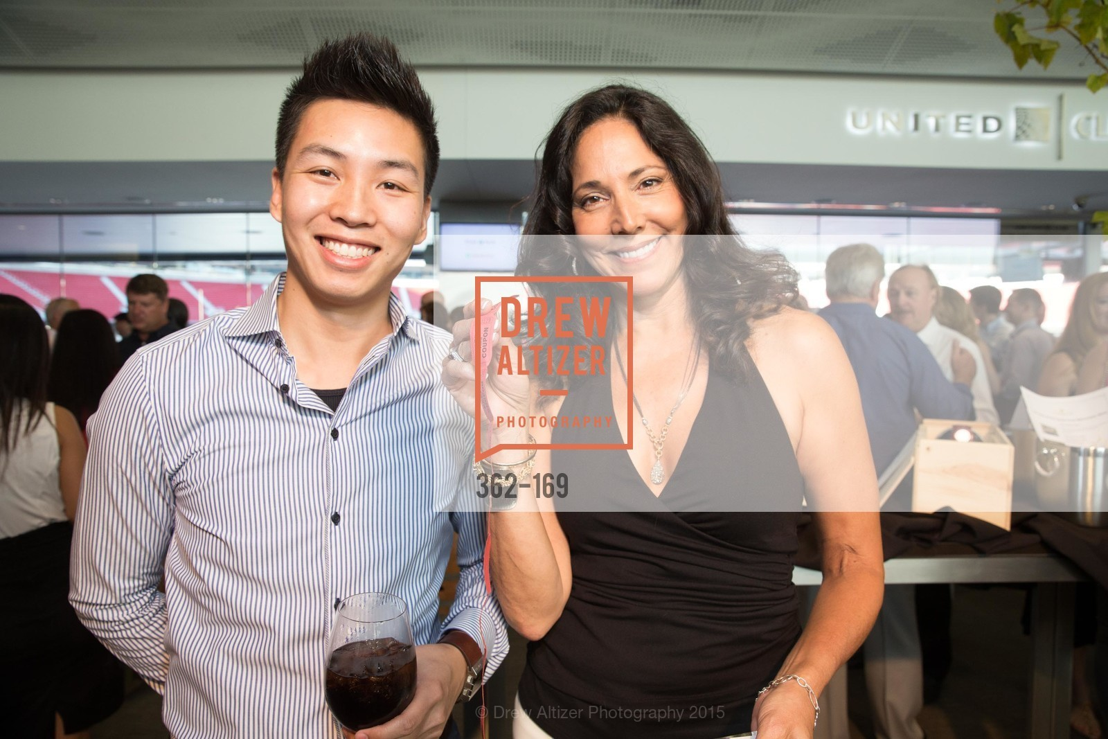 Nho Lam, Devyani Kamdar, Silicon Valley Wine Auction Benefiting Silicon Valley Education Foundation, Levi's Stadium. 4900 Marie P. DeBartolo Way, June 19th, 2015,Drew Altizer, Drew Altizer Photography, full-service agency, private events, San Francisco photographer, photographer california