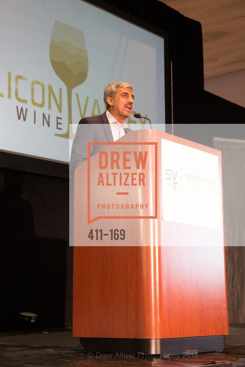 Muhammed Chaudhry, Silicon Valley Wine Auction Benefiting Silicon Valley Education Foundation, Levi's Stadium. 4900 Marie P. DeBartolo Way, June 19th, 2015,Drew Altizer, Drew Altizer Photography, full-service agency, private events, San Francisco photographer, photographer california