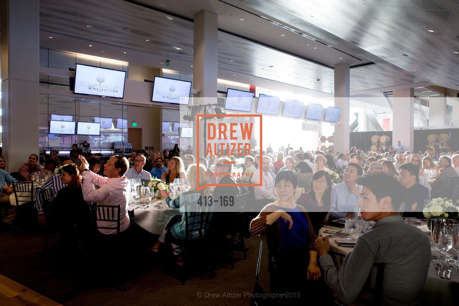 Atmosphere, Silicon Valley Wine Auction Benefiting Silicon Valley Education Foundation, Levi's Stadium. 4900 Marie P. DeBartolo Way, June 19th, 2015