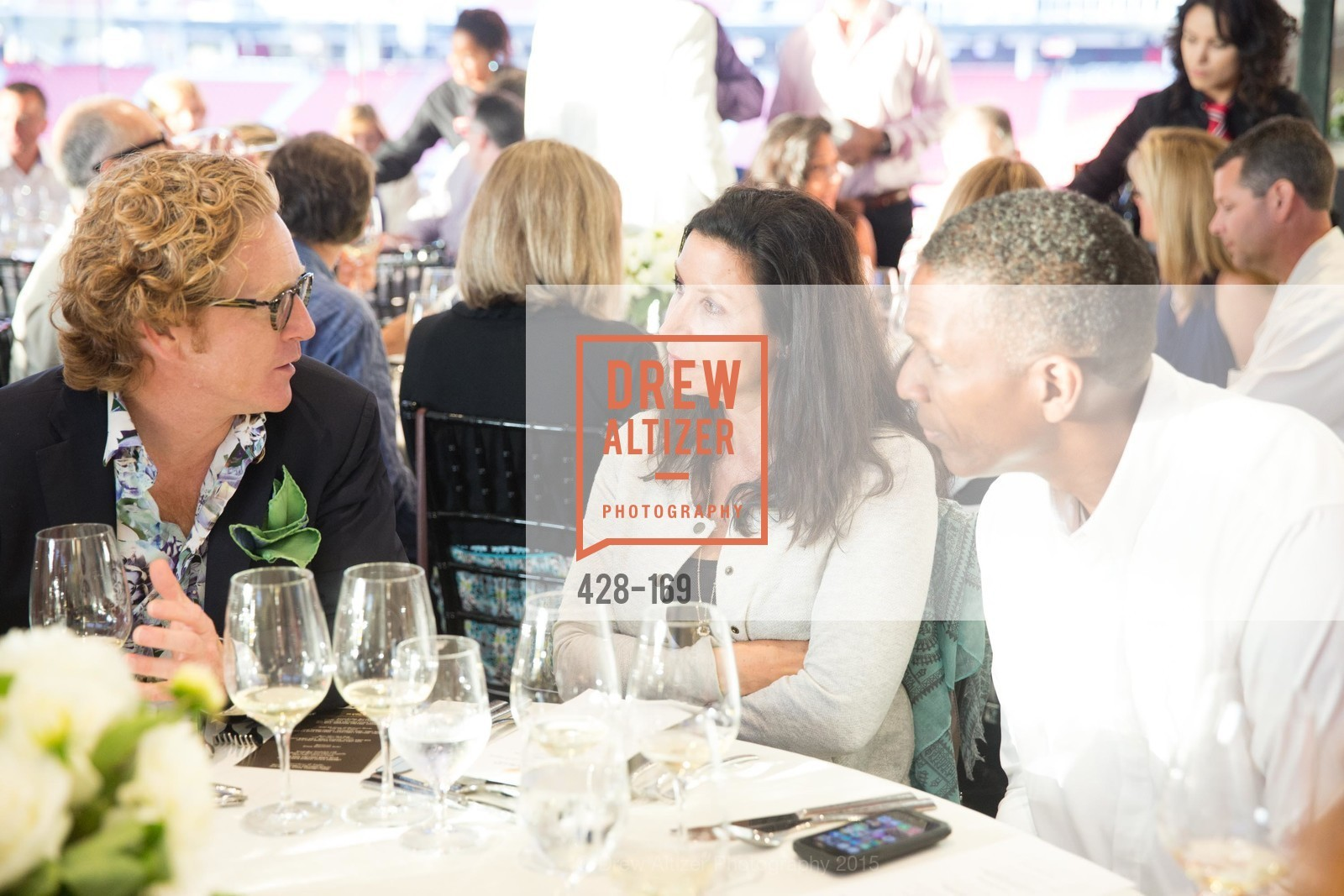 Clay Reynolds, Amy Bonnichsen, Keena Turner, Silicon Valley Wine Auction Benefiting Silicon Valley Education Foundation, Levi's Stadium. 4900 Marie P. DeBartolo Way, June 19th, 2015,Drew Altizer, Drew Altizer Photography, full-service agency, private events, San Francisco photographer, photographer california