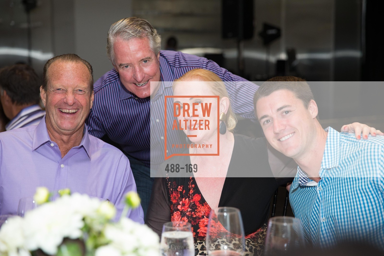 Doug Lockie, John Miller, Sally Pera, Brad Lehman, Silicon Valley Wine Auction Benefiting Silicon Valley Education Foundation, Levi's Stadium. 4900 Marie P. DeBartolo Way, June 19th, 2015,Drew Altizer, Drew Altizer Photography, full-service agency, private events, San Francisco photographer, photographer california