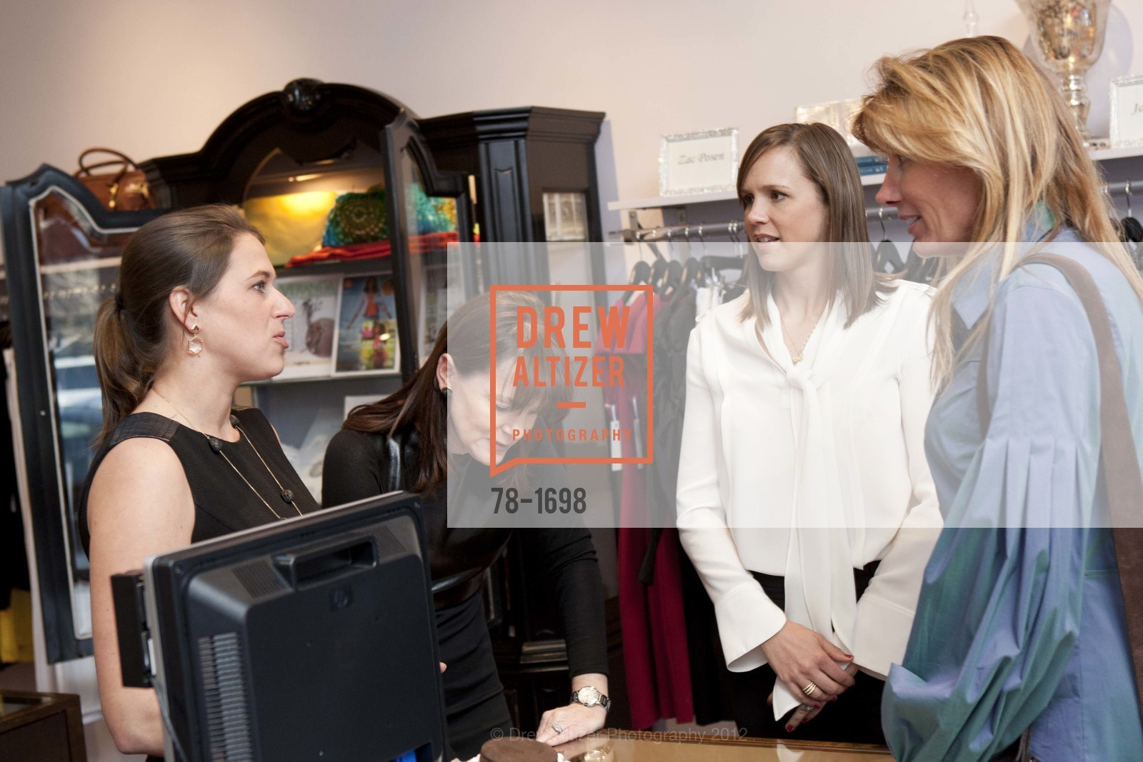 Daria de Koning, Allison Speer, Jessica Moment, Susan Dunlevy, Photo #78-1698