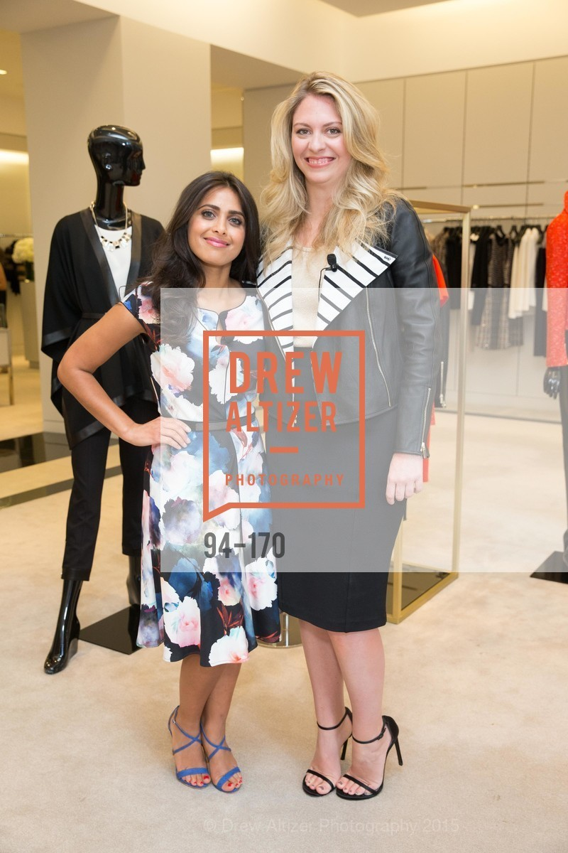 Ruzwana Bashir, Rachel Baker, ELLE & ST. JOHN In Converstation with Exceptional Women, St. John Boutique. 767A Market Street, Suite B, June 16th, 2015,Drew Altizer, Drew Altizer Photography, full-service agency, private events, San Francisco photographer, photographer california