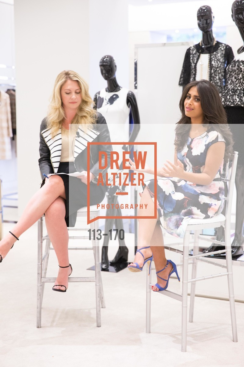 Rachel Baker, Ruzwana Bashir, ELLE & ST. JOHN In Converstation with Exceptional Women, St. John Boutique. 767A Market Street, Suite B, June 16th, 2015,Drew Altizer, Drew Altizer Photography, full-service agency, private events, San Francisco photographer, photographer california