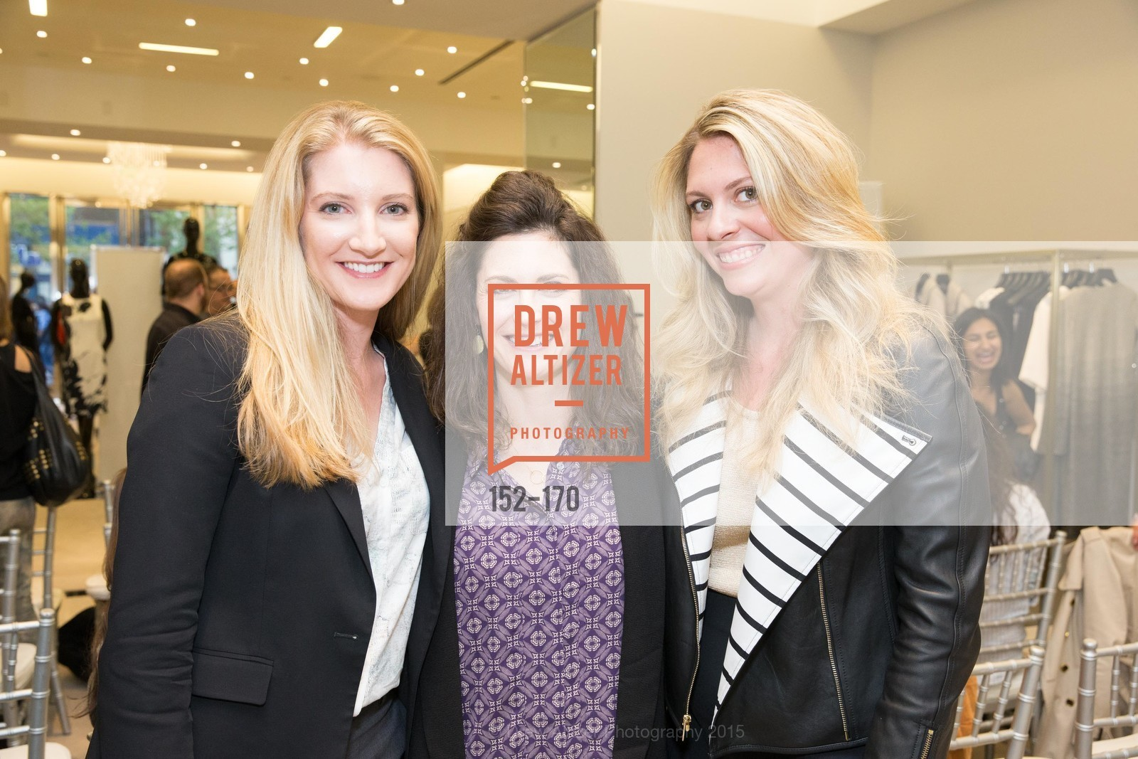 Clara Nabity, Eleanor Kunkel, Rachel Baker, ELLE & ST. JOHN In Converstation with Exceptional Women, St. John Boutique. 767A Market Street, Suite B, June 16th, 2015,Drew Altizer, Drew Altizer Photography, full-service agency, private events, San Francisco photographer, photographer california
