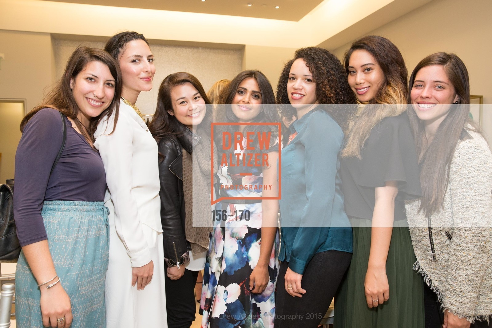 Elika Mahdavi, Ruzwana Bashir, Adrianna Galvin, Kharissa Fernando, ELLE & ST. JOHN In Converstation with Exceptional Women, St. John Boutique. 767A Market Street, Suite B, June 16th, 2015,Drew Altizer, Drew Altizer Photography, full-service agency, private events, San Francisco photographer, photographer california