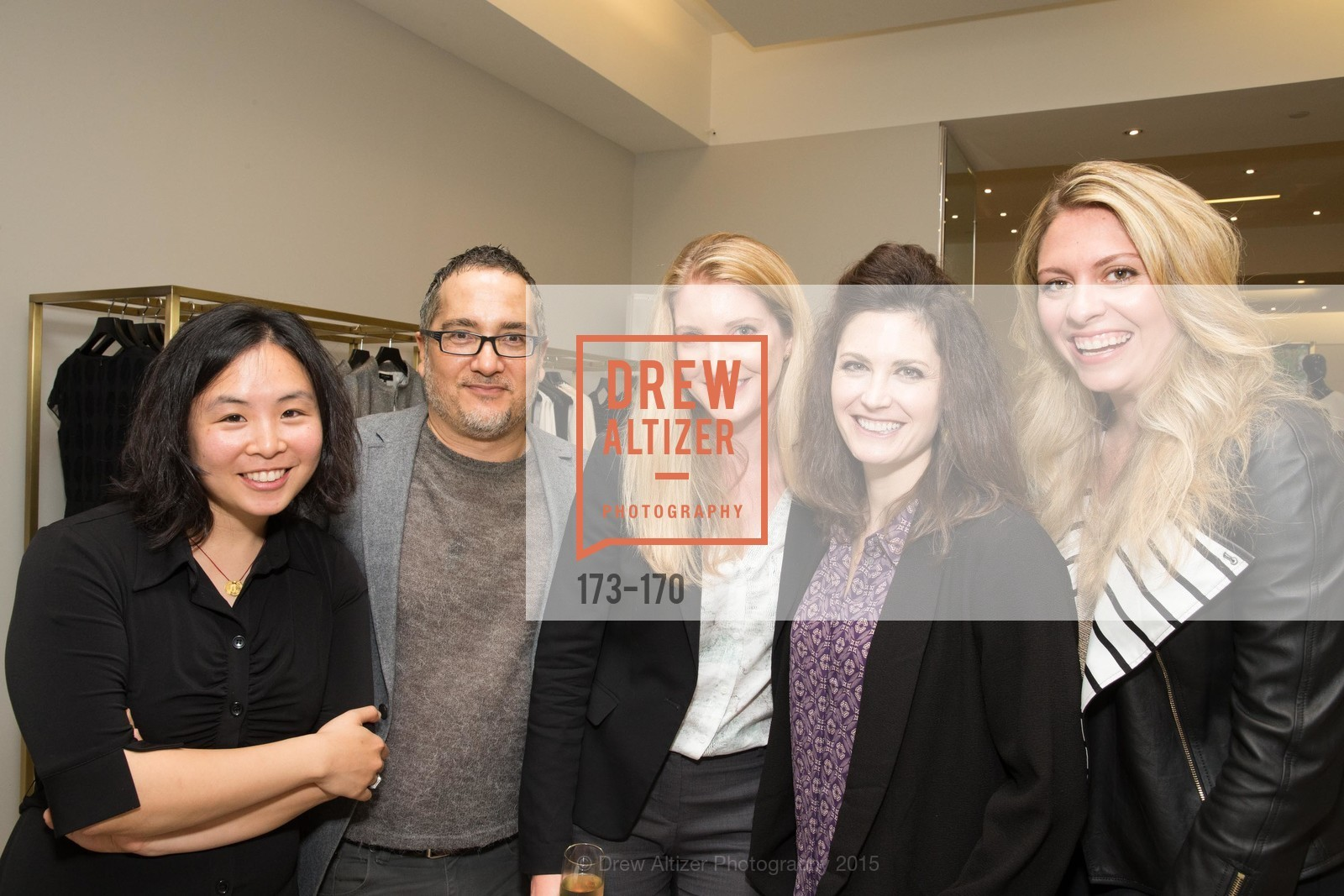 Grace Woo, Robert Burns Nixon, Clara Nabity, Eleanor Kunkel, Rachel Baker, ELLE & ST. JOHN In Converstation with Exceptional Women, St. John Boutique. 767A Market Street, Suite B, June 16th, 2015,Drew Altizer, Drew Altizer Photography, full-service agency, private events, San Francisco photographer, photographer california