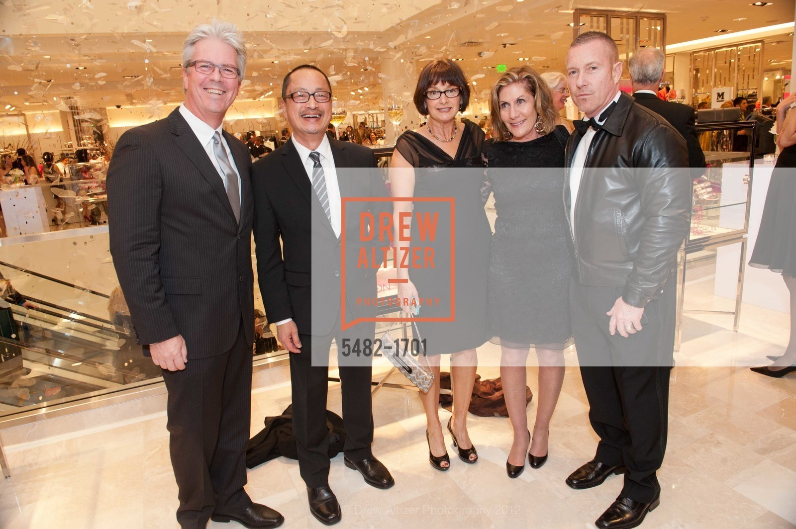 Steve Dolan, Steve Pon, Harry Lederer, Andrea Schwartz, Mitch Jones, Photo #5482-1701