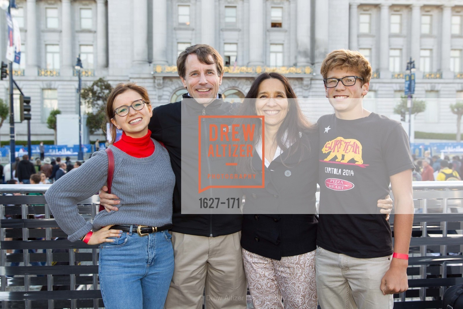 Isa Flores Jones, Dave Jones, Kim Flores, Will Flores Jones, San Francisco City Hall Centennial Celebration, Civic Center Plaza, June 18th, 2015,Drew Altizer, Drew Altizer Photography, full-service agency, private events, San Francisco photographer, photographer california