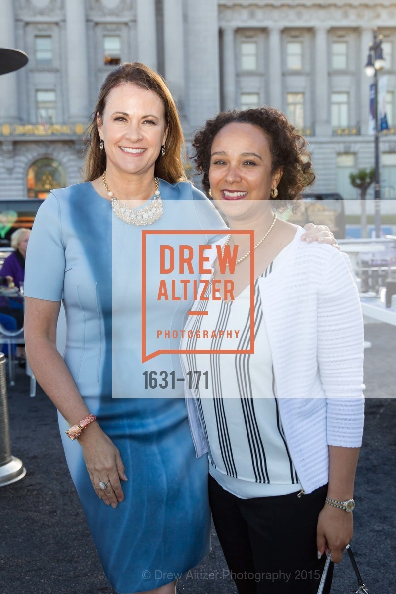 Tanya Peterson, Naomi Kelly, San Francisco City Hall Centennial Celebration, Civic Center Plaza, June 18th, 2015,Drew Altizer, Drew Altizer Photography, full-service agency, private events, San Francisco photographer, photographer california