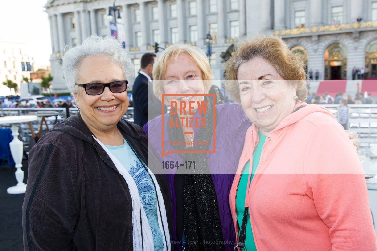 Maria Little, Connie Roos, Jean Fisher, San Francisco City Hall Centennial Celebration, Civic Center Plaza, June 18th, 2015,Drew Altizer, Drew Altizer Photography, full-service agency, private events, San Francisco photographer, photographer california