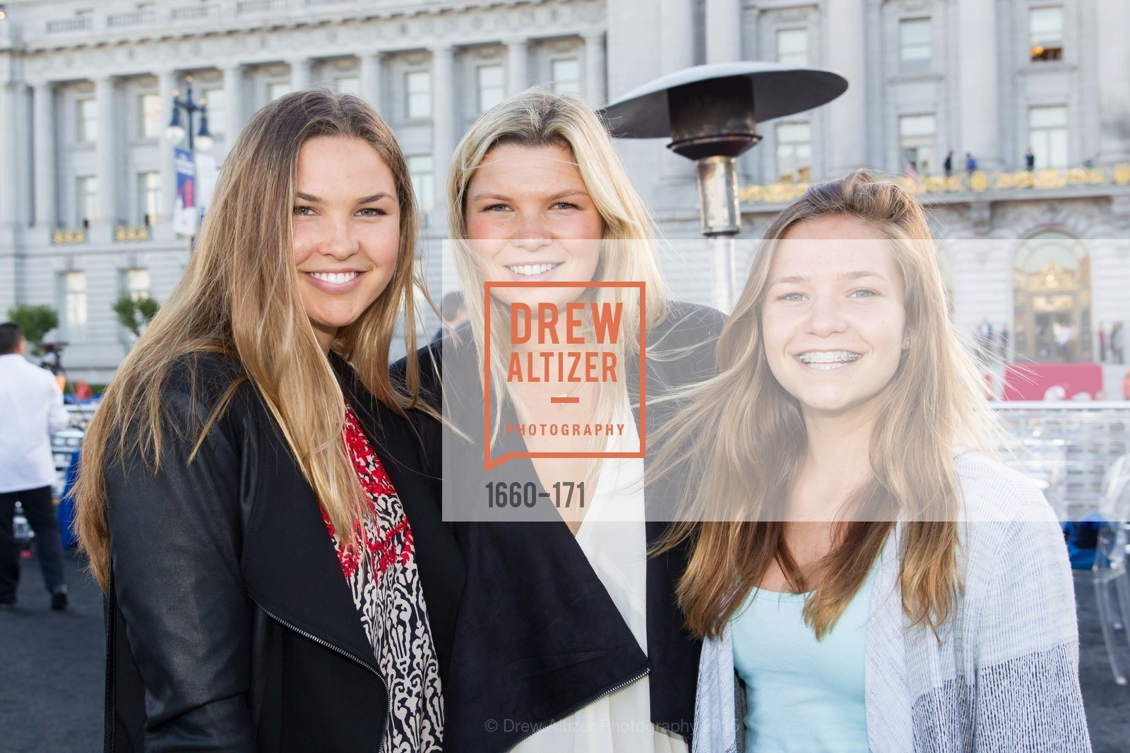 Charlotte Watkins, Madeline Watkins, Ellie Watkins, San Francisco City Hall Centennial Celebration, Civic Center Plaza, June 18th, 2015,Drew Altizer, Drew Altizer Photography, full-service agency, private events, San Francisco photographer, photographer california